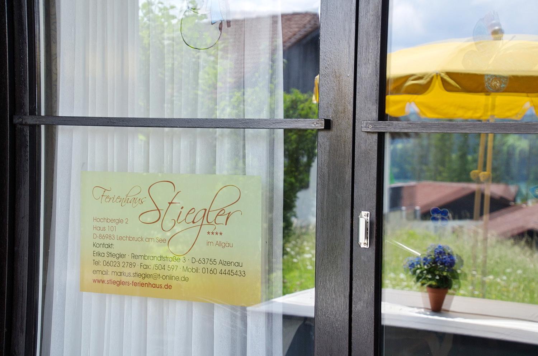 Stieglers Ferienhaus in Lechbruck am See